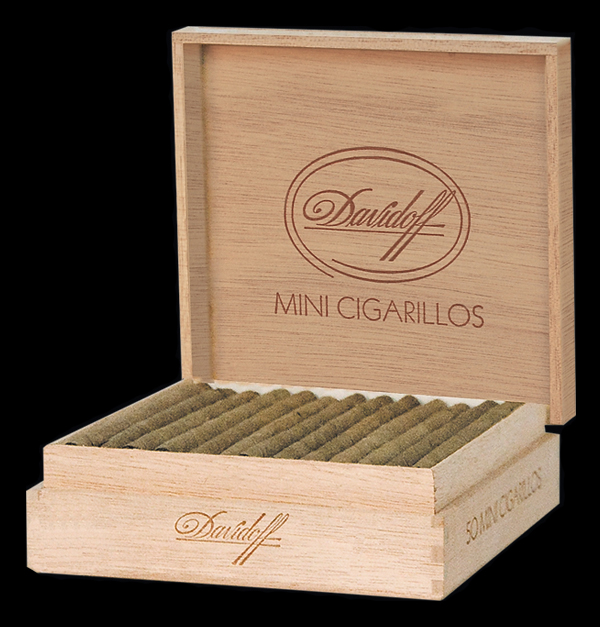 Davidoff Mini Cigarillos. Коробка на 50 сигарилл